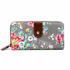Ladies Women Designer Oilcloth Large Purse and Wallets Girls Coin Purse