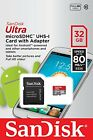 SanDisk 32GB Ultra Micro SD HC Class 10 Memory Card for Samsung Galaxy Tab 3 S4