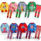 "2Pcs NWT Baby Toddler Infant Kids Girl Boy Clothes Sleepwear Pajama Set "" Zoo """