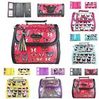 Butterfly Tassel Patent Leather Satchel Shoulder Hand Bag And Purse Gift Set