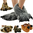 LADIES MENS UNISEX NOVELTY FUNKY GIFT WARM COMFY SLIPPERS SHOES SIZE 3 4 5 6 7 8