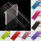 Clear 0.5mm Ultra Thin Glossy Back Hard Case Cover For Apple iPhone 5 5s