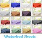 1800 Premier Super Soft Brushed Microfiber Waterbed 4 piece Sheet Set King image