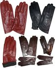 New Ladies dress Leather Gloves Winter Gloves Warm soft Lined Leather Gloves nwt