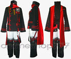 D Gray-man DGM Lavi Uniform III 3rd Cosplay Costume Tailored Free Shipping