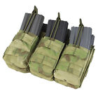 Condor MA44-015 A-TACS FG Triple Stacker  MOLLE Mag Pouch - Holds 6 Mags NIP