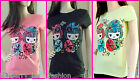 *Caroline Morgan* printed T-Shirt sizes 8,10,12,14,16 great for summer New