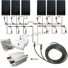 solar panel off grid complete kit 160W 300W 600W 900W 1200W 12V/24V charger