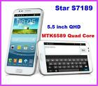 Star S7189 Android 4.2 MTK6589 Quad qore 5.5 QHD Smartphone 3G GSM Cell Phone