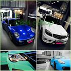 Glossy Vinyl Wrap Sheet Car Wrap Various Colours and Sizes 'Air Bubble Free'