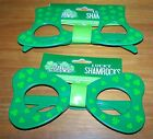 ST PATRICKS DAY Lucky Glasses plastic choice NEW