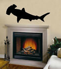 Hammerhead Shark Sea Ocean Nautical Sticker Vinyl Wall Art Sicker Decal