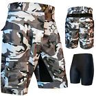 Cycling Downhill Shorts MTB Shorts Sports Cycle Road Shorts +Inner Padded Shorts