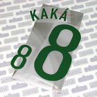 Kaka' 8, Brazil 2008 National Team, name set