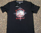 OCC OFFICIAL Orange County Choppers Silver Bike Black T-Shirts Small and Medium