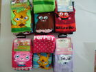 MOSHI MONSTER 3 pr pack of socks- Girls shoe size 9-12