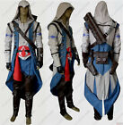 Assassin's Creed III Connor Kenway Cosplay Costume whole outfit HIGH QUALITY