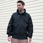 MENS FLEECE LINED BLOUSON JACKET COAT 4cols S-XXXXL WINTER WARM WATERPROOF 4XL