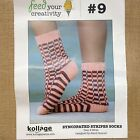 Kollage Syncopated Stripe Socks Knitting Kit - Feed your Creativity #9