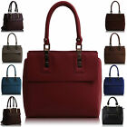 New Ladies Women Shoulder Bag Faux Leather Designer Across Body Handbag UK