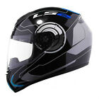 LS2 FF351 ATOMS Motorbike Motorcycle Scooter Full Face Rating EC Approved Helmet