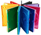 New! *COLOR* DVD Case 3-Pack (Standard 14mm) Blue-Green-Orange-Purple-Red-Yellow