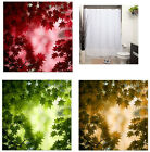 Maple Leaves - Tree -  Polyester - Fabric Shower Curtain -  Colorful Decorative
