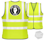 Derby County RAMS On Funny Football Hi Vis Viz Vest