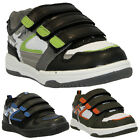 NEW BOYS KIDS SHOES INFANTS GIRLS VELCRO SKATE TRAINERS BACK TO SCHOOL SIZE 8-2