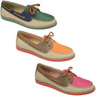 NEW LADIES DOLCIS MOCCASINS LACE UP FLAT LOAFERS BOAT DECK SHOES SIZES UK 3-8