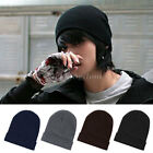 New Winter Unisex Woolly Knitted Beanie Oversized Slouch Hat Cap