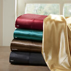 BEAUTIFUL MODERN CHIC SOFT LUXURY LUXURIOUS SATIN SILKY HIGH LUSTER SHEET SET  image