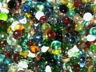 Glass Pebbles / Nuggets / Stones / Beads - Mixed Colours and Sizes