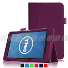 Folio Slim Fit Leather Case Stand Cover for Dell Venue 7 7.0-Inch Andriod Tablet
