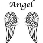 New ANGEL WINGS T-Shirts 10 to 16 WHITE