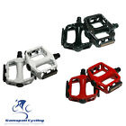"Good Quality 9/16"" MTB Bike Cycling  Pedals Flat Platform Bicycle Pedals Alloy"