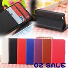 1 Iphone Apple 5 5S Wallet Stand Flip PU Leather Opal Card Case Protector Cover