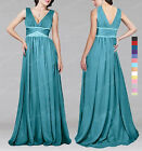 New Elegant Beaded Bridesmaid Wedding Formal Prom Ball Evening Dress SP306 O L