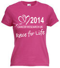 RACE FOR LIFE T SHIRT 2014 , Cancer Research UK T shirt, Not A Tshirt Transfer