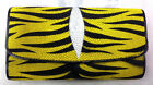NEW 100%GENUINE STINGRAY LEATHER CLUTCH WALLET,TRI-FOLD YELLOW BLACK TIGER COLOR