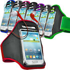 Sports Running Jogging Gym Armband Pouch Case & Earphone For BlackBerry Mobiles