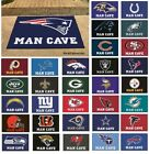 "NFL Teams - Man Cave 34"" x 43"" All Star Area Rug Floor Mat $36.99 USD on eBay"