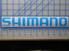 "Shimano Logo Decal Sticker 7.5"" 11"" Fishing Reel Rod Bike Stradic Stella Spheros"
