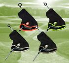 EZE Golf 2 in 1 Club Putter Microfibre Towel & Head cover with Golf Ball Marker
