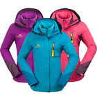 3 in 1 New Womens Jacket Outdoor Clothes Hiking Camping Travel Waterproof Fleece