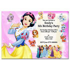 i11/pink Personalised Birthday party invitations invites 1st 2nd 3rd 4th 5th 6th