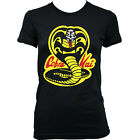 9113 COBRA KAI Ladies T-SHIRT inspired by KARATE KID MARTIAL ARTS MOVIE KUNG FU