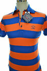 PAUL & SHARK YACHTING POLO ART E14P0121SF COL. 682   SLIM FIT MULTICOLOR