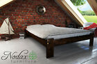 """New Solid Pine 5ft King Size Bed Frame&Slats """"Aquarius"""" No Headboard"""