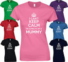 I CANT KEEP CALM IM GOING TO BE A MUMMY - SISTER AUNTIE New Mum BABY Gift TSHIRT